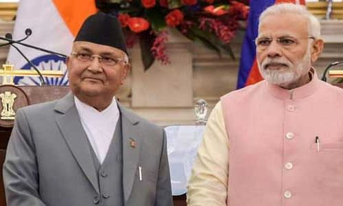 Modi and Nepal PM ink MoU on Rail link