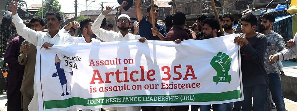 Article 35-A: Separatists say protests will continue