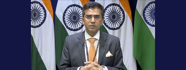 Indian Govt in touch with US authorities to help 'detained' students : MEA