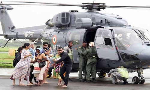 Kerala floods: Navy rescues 16,843 persons