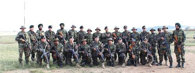 Military drills between India-Mongolia enter 3rd day