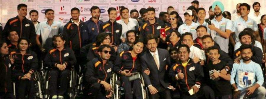 Learnt lesson of celebrating incompleteness with grit & courage: Shah Rukh Khan to Para athletes