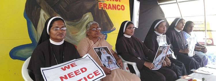 Our fight is for justice, nothing less than Jalandhar bishop's arrest, says Sr Anupama