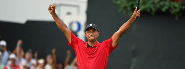 Tiger Woods makes a great comeback