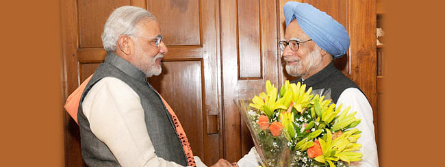 PM extends birthday wishes to Manmohan