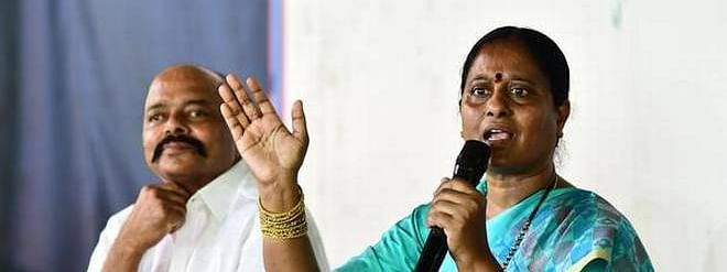 Aim of joining Cong is to defeat TRS: Surekha