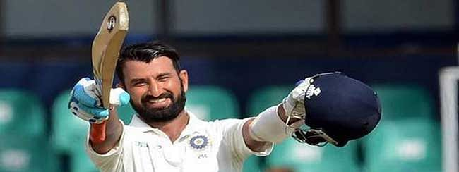 Cheteshwar Pujara's unbeaten 132 save India's face in fourth Test