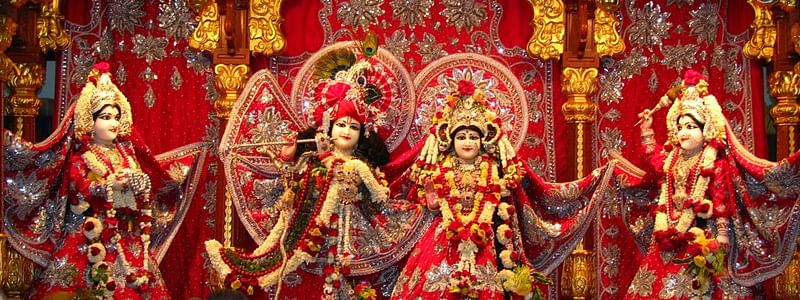 People perform special poojas in temples to mark Janmashtami