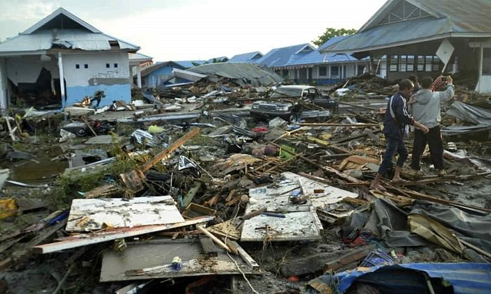 Indonesia tsunami:Govt relief being stepped up as toll mounts to 430