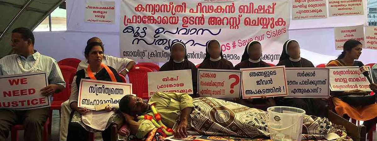 En masse transfer for nuns who protested against rape accused ex-bishop Franco