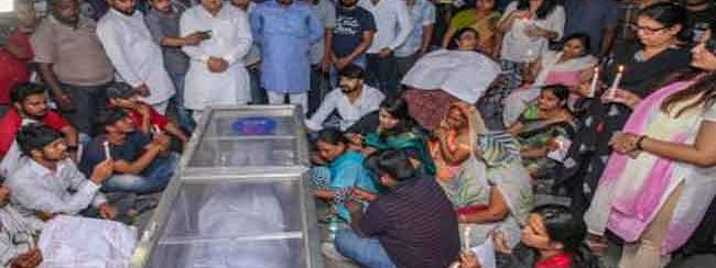 Apple executive murder: UP ministers attends cremation