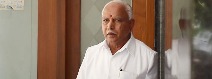 JDS-Cong Govt is functioning as a Commission Agent: Yeddyurappa