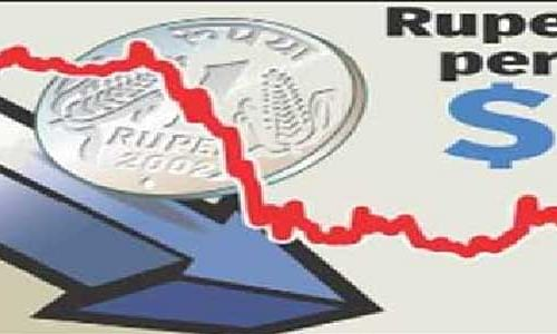 Rupee still down by 9 paise against USD