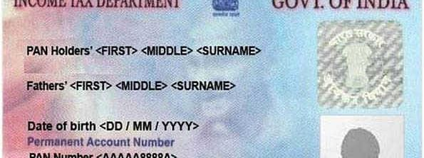 Not mandatory to write father's name on PAN card