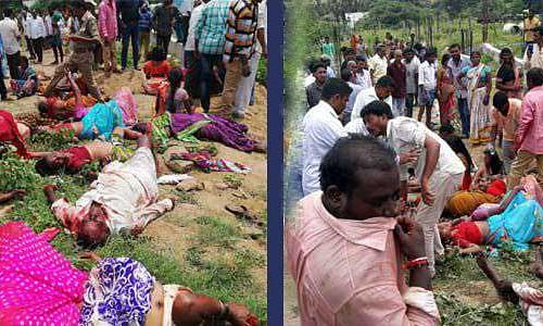 45 passengers killed, several injured as TSRTC bus plunges into valley
