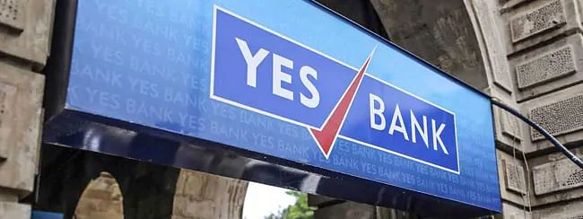 Yes Bank up by 24.03 pc to Rs 70.45