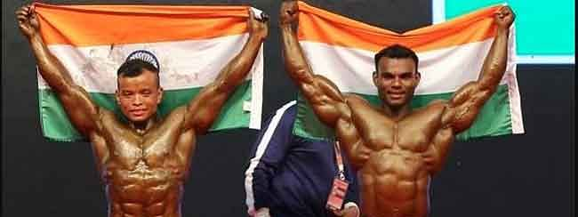 Dinesh grabs first gold for India in 52nd Asian Body Building