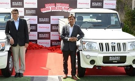 Mahindra launches upgraded Bolero pick-up with 1700 Kg payload