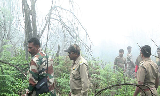 ANF combing operation for suspected Maoists in the district