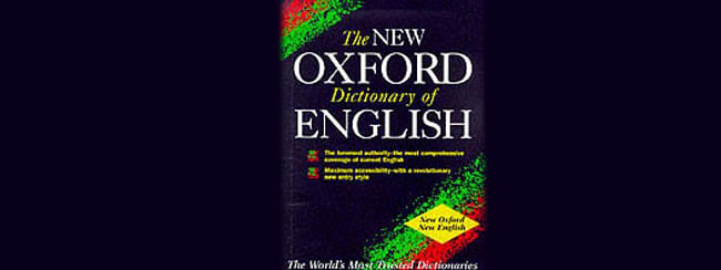 OED's new list of words