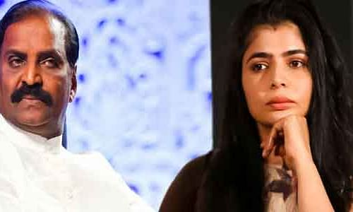 Vairamuthu sexually harassed me: Singer Chinmayi opens #metoo in TN