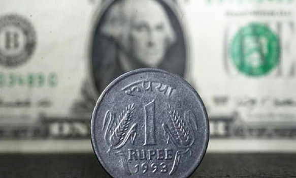 Rupee up by 34 paise against USD