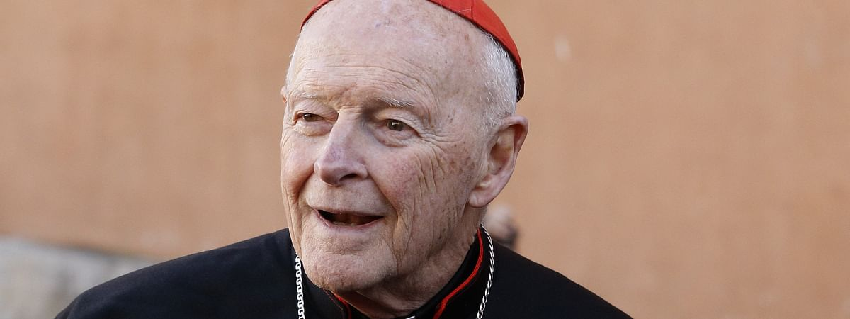 Retire to life of prayer and penance: Pope Francis says to 'sinful' cardinal McCarrick
