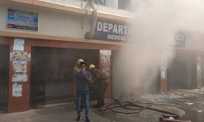Fire at Calcutta Medical College, over 250 patients evacuated