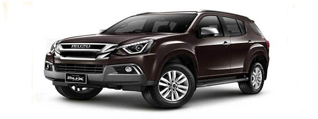 Isuzu launches new mu-X SUV in India