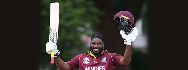 Gayle commits to Windies for World Cup