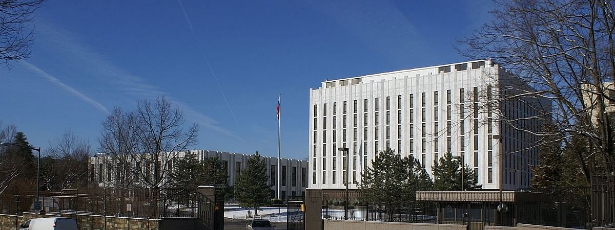 Russian Embassy calls on US to 'curb Ukrainian Stooges'