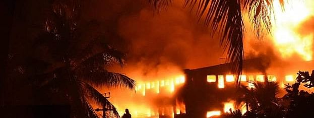 Plastics factory fire: Two arrested admit to crime, says police