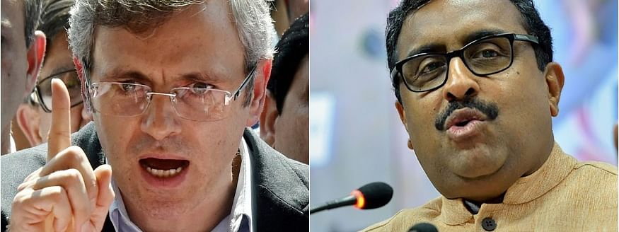 Prove 'alliance with PDP was on behest of Pak' comment or apologies, Omar dares Madhav