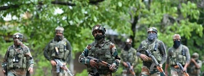 Massive CASO launched by security forces in Pulwama