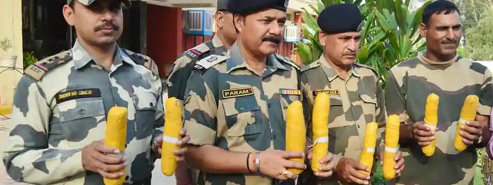 4 kg heroin recovered from Punjab border
