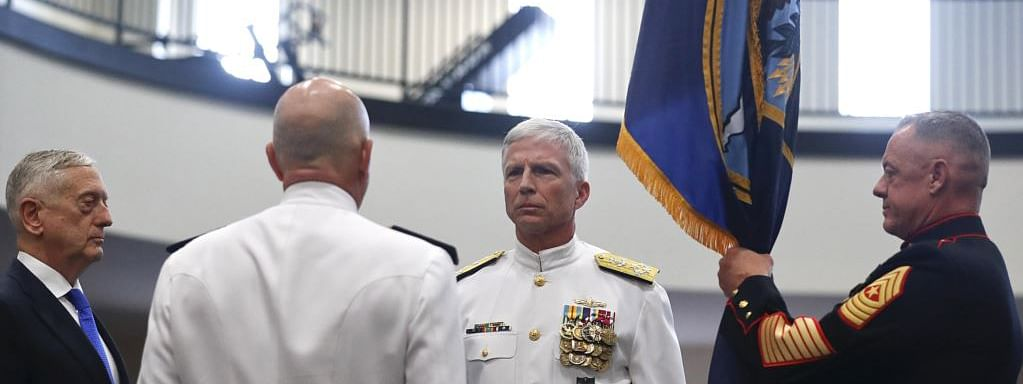 Navy admiral Craig Faller takes charge of US Southern Command