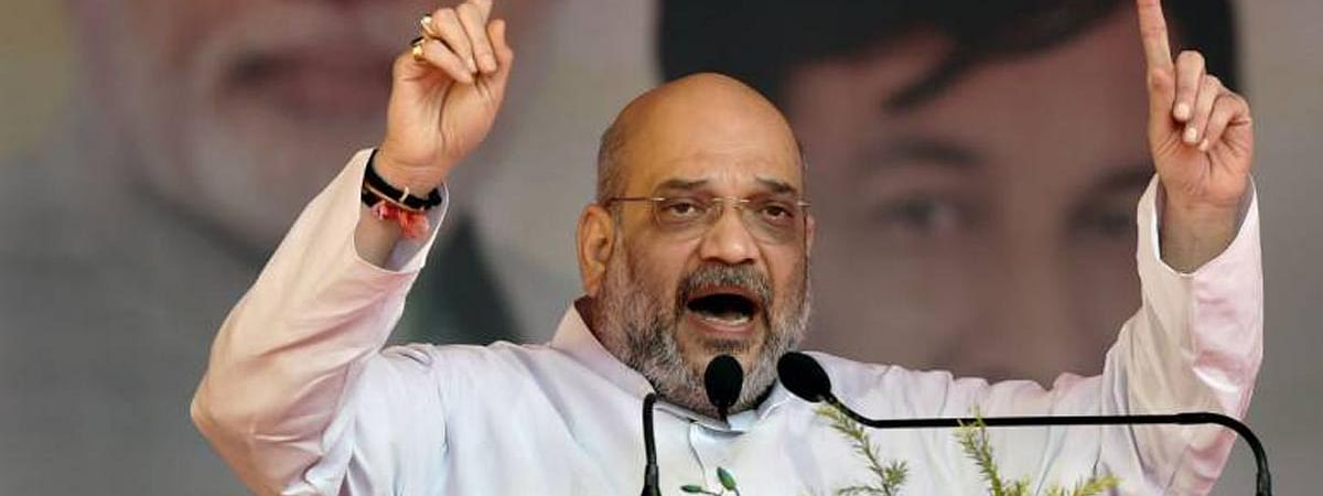Amit Shah seeks one more term for BJP to oust each and every foreign infiltrator