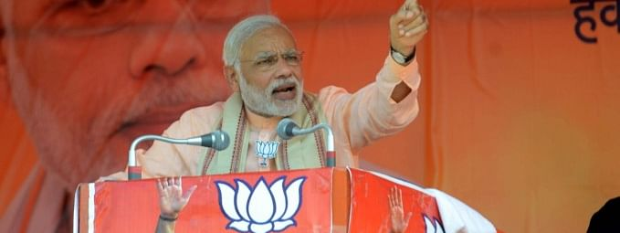 TRS, Congress two sides of same coin: Modi