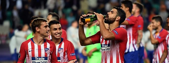 Football: Atletico breeze into last 16 of Champions League