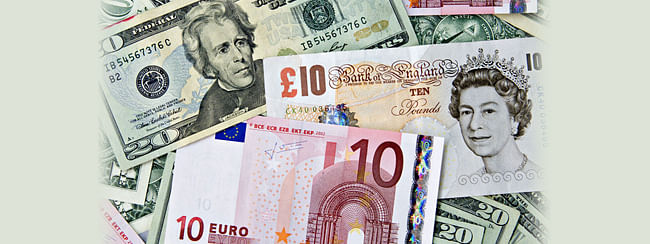 Dollar USD Euro Pound