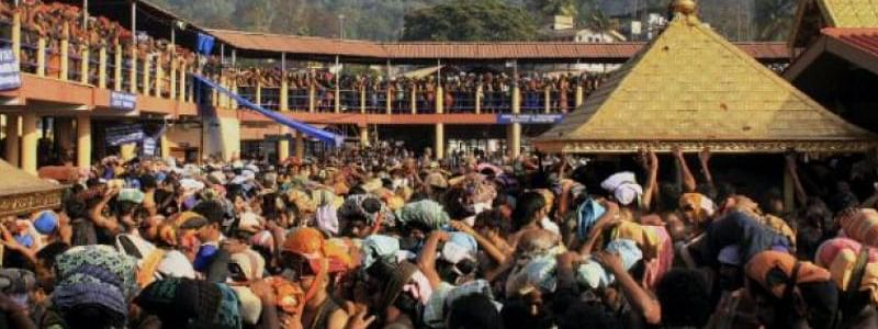 House of young woman takes Sabarimala vow attacked