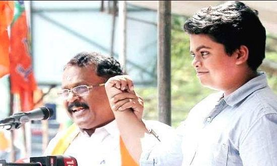 Lawrence's daughter  meets Governor, says CPIM harassing her at workplace