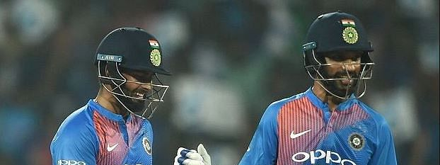 Dhawan, Pant help India snatch last ball victory, sweep series