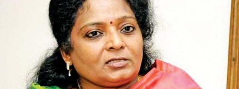 Tamilisai takes dig at Congress for blaming EVMs in BJP wins