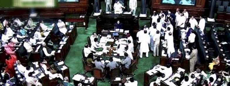 LS adjourned  over Rafale, Cauvery & other issues till 2 PM