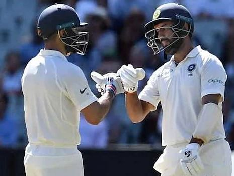 Melbourne Test: India 215/2 at the end of Day 1