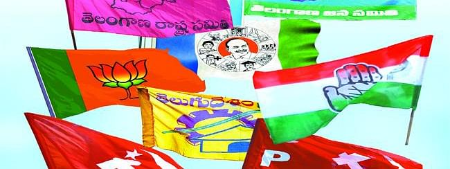 Telangana Polls: Parties give final touches as campaign nears end