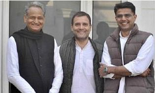 Rahul decides to make Gehlot new Rajasthan CM, Sachin Pilot to be deputy