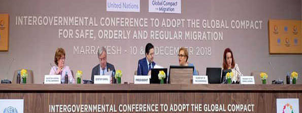 Migrants:UN adopts roadmap to improve safety