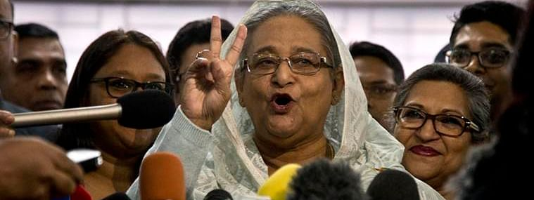Bangladesh polls: Hasina's Awami League wins landslide victory, opposition calls results 'farcical'